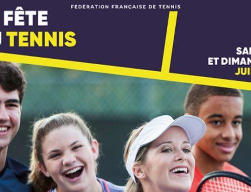 Fête du Tennis : samedi 8 juin 2019